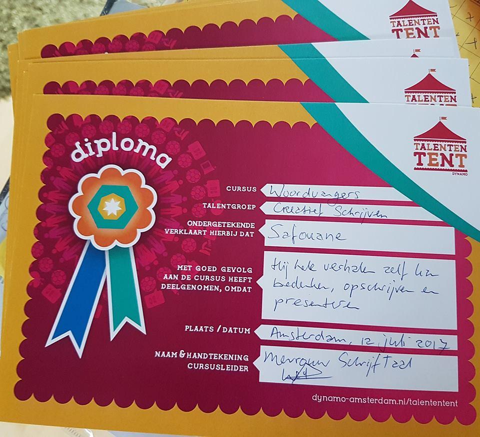 Woordvangers voor WordPress Linnaeusschool gr4 diploma