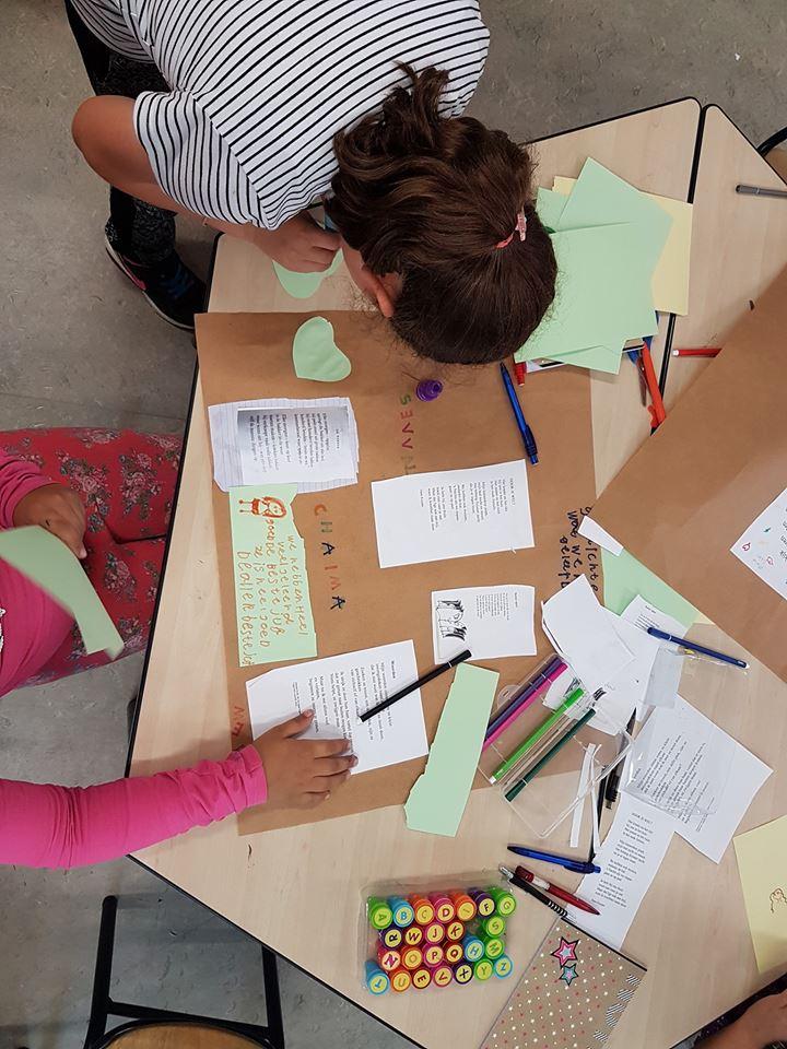 Woordvangers voor WordPress Linnaeusschool gr4 poster